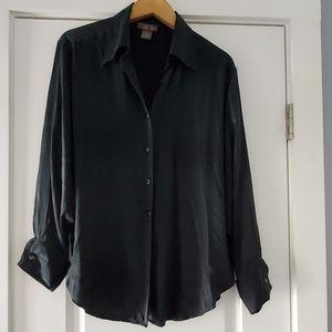 100% silk New York Style vintage blouse!